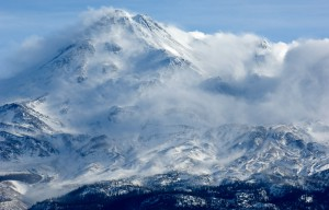 Storm On Mount Shasta