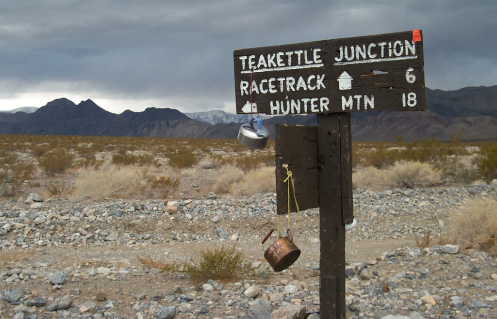 Teakettle Junction, Death Valley National Park