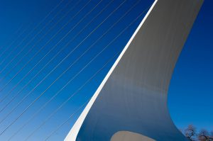 Calatrava's Sundial Bridge. Redding., California