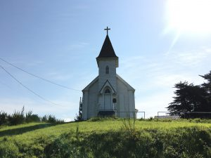 Church, Petrolia, California's Lost Coast.
