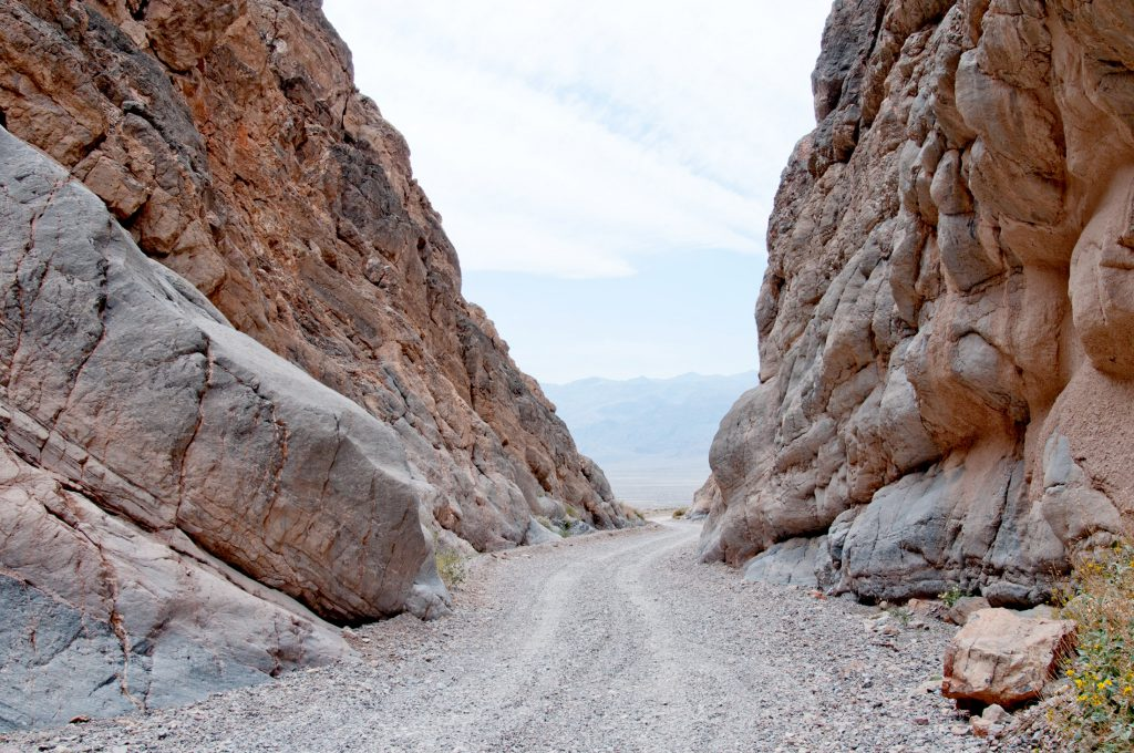 The Road Out Of Titus Canyon, Death Valley